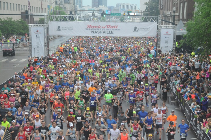 St. Jude's Rock 'n' Roll Nashville Half Marathon Recap (Part Two)