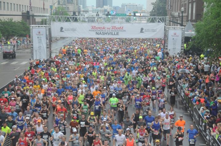St. Jude's Rock 'n' Roll Nashville Half Marathon Recap (PartTwo)